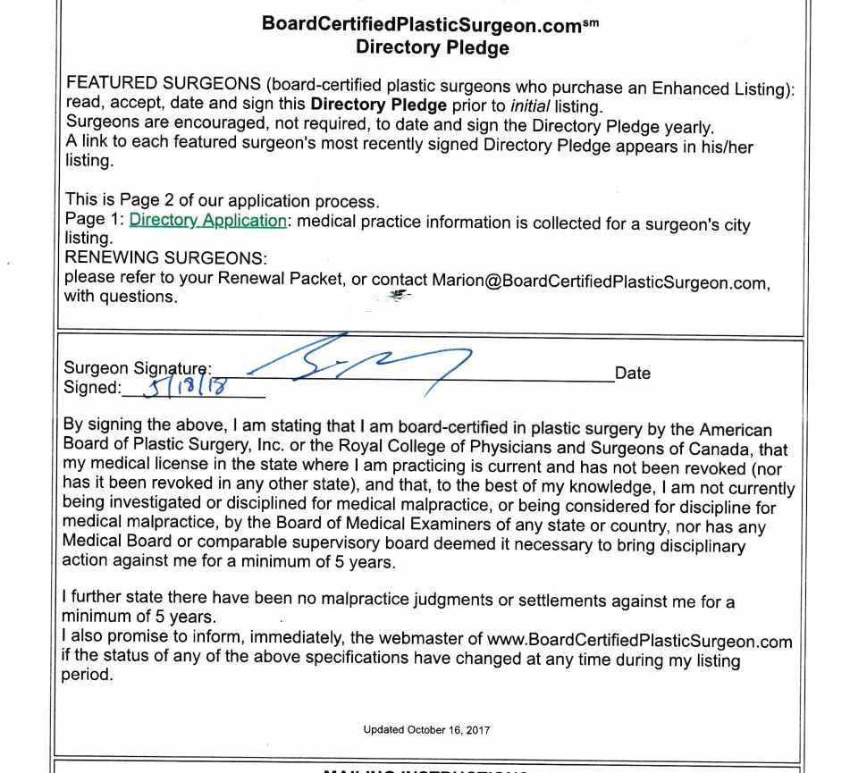 Top Morristown Nj Board Certified Plastic Surgeon Dr Brian Glatt